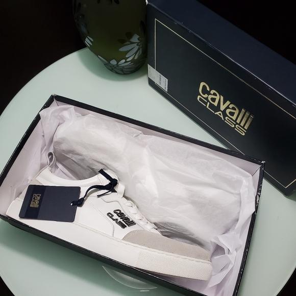 Roberto Cavalli Other - Roberto Cavalli Class Lace-Up Sneaker
